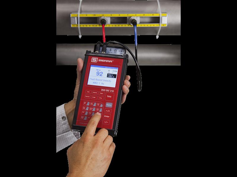 InnovaSonic 210i Portable Ultrasonic Flow Meter