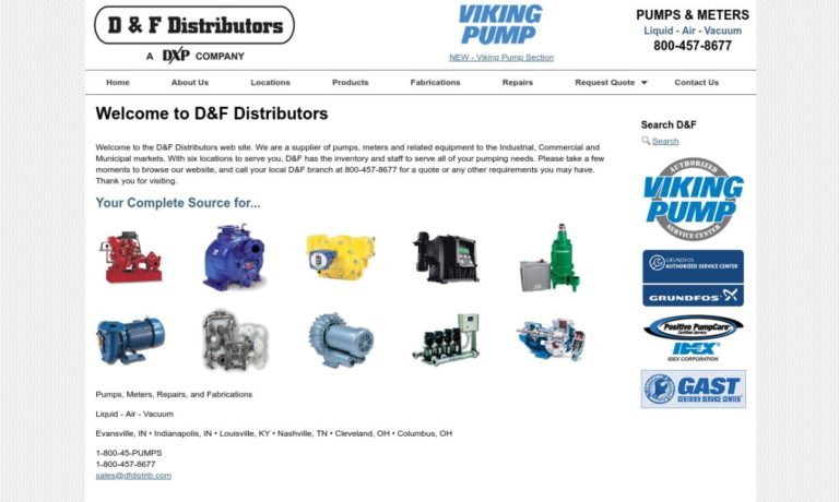 D&F Distributors, Inc