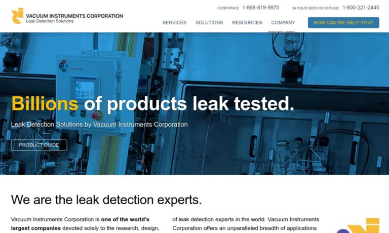 VIC Leak Detection